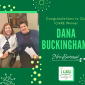 Congratulations to Our ICARE Award Winner: Dana Buckingham!