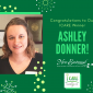Congratulations to Ashley Donner, our Newest ICARE Award Winner!